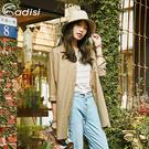 ADISI 女休閒麻感超透氣長版隨興罩衫AL1911145 (S/M-L/XL) / 城市綠洲 (UPF30+、抗紫外線、透氣、快乾)