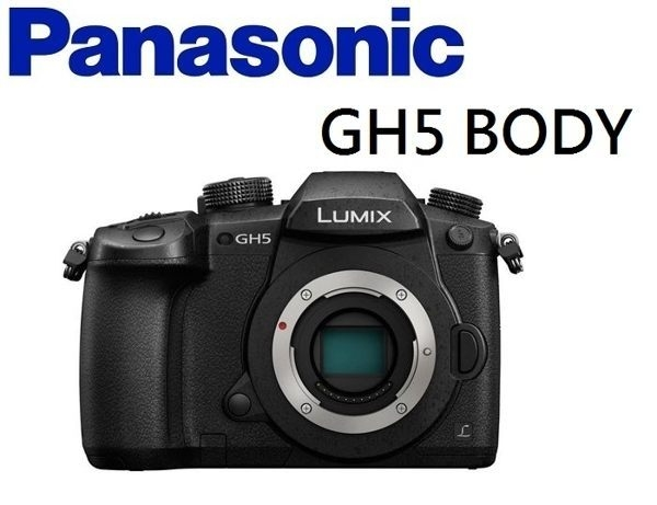 [EYEDC] Panasonic LUMIX DMC- GH5 BODY 單機身 公司貨(分12/24期)