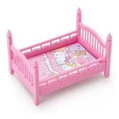 Sanrio HELLO KITTY迷你床型置物盒附便條紙★funbox★_442143N
