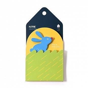 【金玉堂文具】0416x1024/HIDE & SEEK LOVE!可再貼魔術造型便條磚 便利貼 便條紙