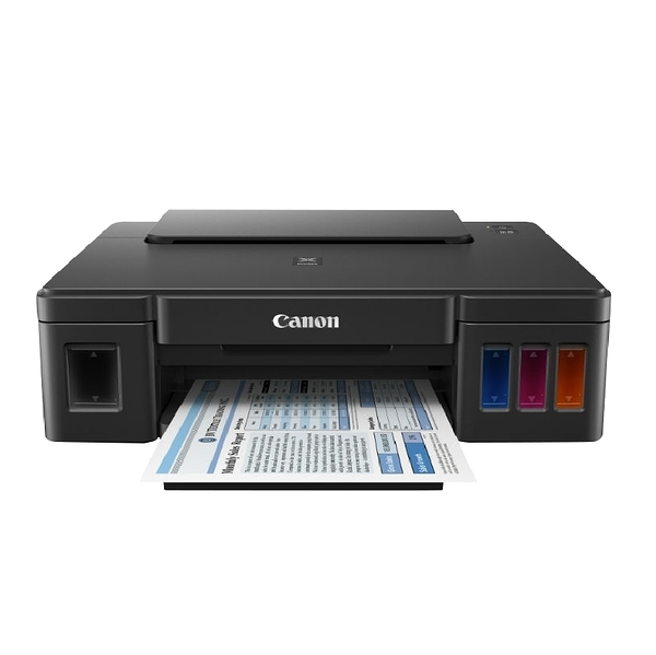 【限時促銷 上網登錄送禮卷】Canon PIXMA G1010 原廠大供墨印表機 保固一年