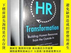 二手書博民逛書店HR罕見Transformation: Building Hum