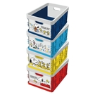 【Snoopy】史努比 摺疊收納箱 摺疊箱 紅 黃 藍 深藍 史努比