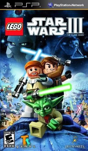 PSP LEGO Star Wars III: The Clone Wars 樂高星際大戰 3:複製人戰爭(美版代購)