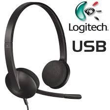 羅技-USB耳機麥克風 H340