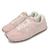 【六折特賣】New Balance 休閒鞋 NB 996 粉紅 米白 女鞋 麂皮 運動鞋 【ACS】 WL996VHDB