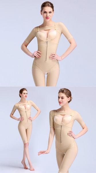 超重壓收腹美體加強版束身連體束身-Jamn20033