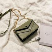 高級感小包包女2019新款韓版洋氣鏈條單肩包時尚百搭斜挎小方包『小宅妮時尚』