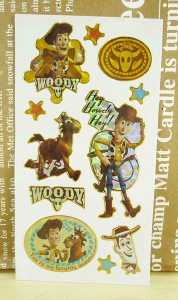 【震撼精品百貨】Metacolle 玩具總動員-貼紙-胡迪與驢子圖案