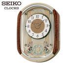 CASIO 手錶專賣店 SEIKO 精工 掛鬧鐘  QXM157B/QXM157 日式藝術風格音樂展示掛鐘