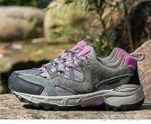 戶外登山鞋女防水徒步鞋真皮防滑休閒旅游鞋透氣越野跑鞋「千千女鞋」