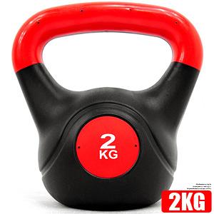 2KG重力壺鈴(4.4磅)2公斤壺鈴拉環啞鈴搖擺鈴舉重量訓練運動健身器材哪裡買KettleBell