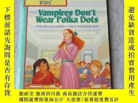二手書博民逛書店Vampires罕見Don t Wear Polka Dots