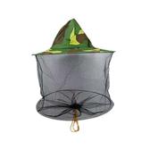 迷彩蜂帽防蜂帽蜜蜂帽蜂衣巢礎搖蜜機養蜂工具蜂帽 NMS漾美眉韓衣