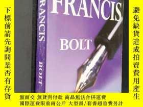 二手書博民逛書店DICK罕見FRANCIS BOLTY306334 出版1986