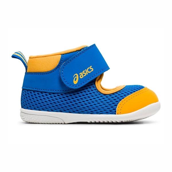 Asics Amphibian First系列 [TUS117-415] 小童鞋 涼鞋 拖鞋 舒適 透氣 亞瑟士 藍 黃