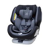 【ISOFIX/安全帶兩用】法國納尼亞 Nania x Migo 納歐聯名 360度旋轉 0-12歲汽車安全座椅/汽座 黑色