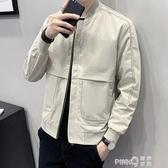 外套男士2020新款韓版潮流工裝夾克休閒帥氣百搭春秋季上衣服男裝 pinkQ 時尚女裝