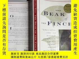 二手書博民逛書店BEAK罕見OF THE FINCH.喙雀 .12498 Jon