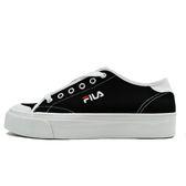 Fila 黑 女鞋 休閒鞋 運動 低筒 刺繡 小LOGO 帆布 基本款 潮流 滑板鞋 板鞋 5-C910S-001