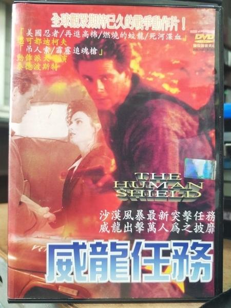挖寶二手片-Z88-018-正版DVD-電影【威龍任務】-麥可都迪柯夫 泰德波斯特(直購價)