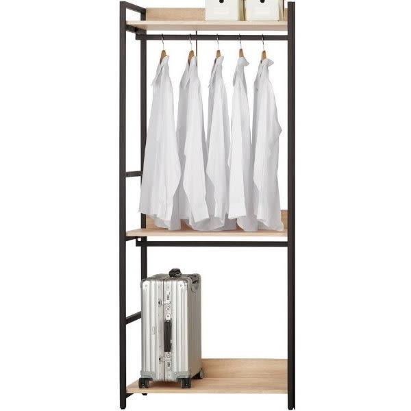 衣櫃 衣櫥 MK-071-1 艾麗斯2.6尺雙吊衣櫥 【大眾家居舘】