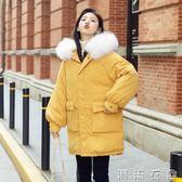 棉服女新款中長款學生冬季ins面包服oversize棉襖加厚外套潮  潮流衣舍