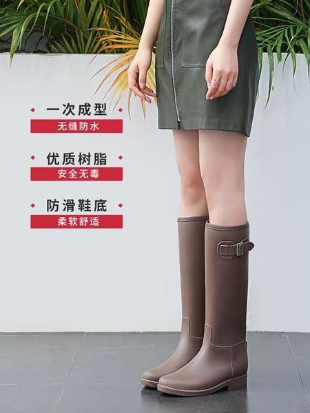 女式雨鞋女時尚款外穿雨靴