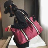 出差短途旅行包女手提韓版大容量行李袋輕便簡約旅游運動健身包男 創想數位