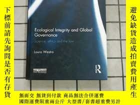 二手書博民逛書店Ecological罕見Integrity and Global Governance... 進口原版 Y26
