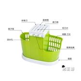 筷籠筷架筷子收納多 廚房筷子筒筷筒筷子籠筷子架家用筷籠架子塑料筷架 出貨