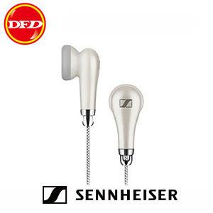 SENNHEISER MX 585 出色清晰度 L型耳機接頭 附音量控制功能 耳塞式耳機 白色 公司貨