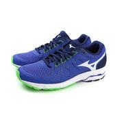 美津濃 Mizuno WAVE UNITAS 4 慢跑鞋 運動鞋 藍色 男鞋 J1GC182101 no041