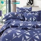 LUST生活寢具【奧地利天絲-格爾伯】100%天絲、雙人5尺床包/枕套/舖棉被套組  TENCEL 萊賽爾纖維