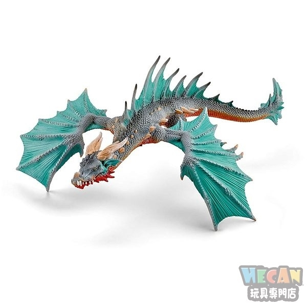 Schleich史萊奇動物模型 傳說巨龍 潛水龍 70520