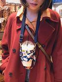 杯套媛藝飲料環保奶茶杯套斜背掛脖背帶手提袋帆布咖啡手搖杯兜兜 寶貝計畫
