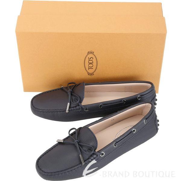 TOD'S Gommino 經典休閒豆豆鞋(女鞋/夜藍色) 1820081-61