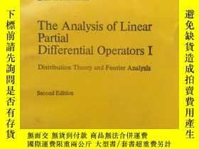 二手書博民逛書店the罕見analysis of linear partial