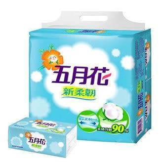 五月花MayFlower 新柔韌抽取式衛生紙 (100抽x10包)/串【售完為止】