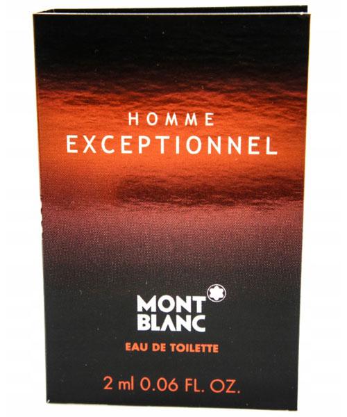 MONTBLANC Homme Exceptionnel 頂尖提琴手 男性淡香水 2ml【七三七香水精品坊】