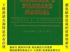 二手書博民逛書店Maintenance罕見Manager s Standard Manual-維護經理標準手冊Y436638