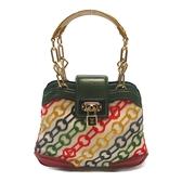 LV 彩色復古牛皮鎖頭手提包 Velvet Chains Mini Linda Bag m95191 【BRAND OFF】