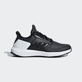 ADIDAS RAPIDARUN K [F35888] 大童 運動 休閒 跑步 透氣 舒適 保護 彈性鞋帶 愛迪達 黑白
