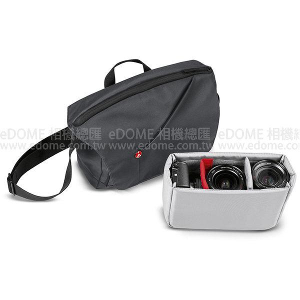 MANFROTTO 曼富圖 NX CSC 灰 灰色 開拓者微單眼郵差包 (0利率 免運 公司貨) 相機包 空拍機包 MB NX-M-GY