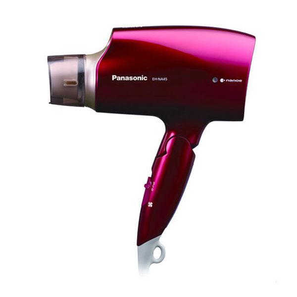 【Panasonic國際牌】奈米水離子吹風機EH-NA45-RP(紅色)