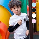 兒童夏日涼感防曬冰絲袖套 防曬袖套 兒童袖套 涼感袖套