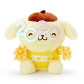 〔小禮堂〕布丁狗 沙包絨毛玩偶娃娃《S.黃》沙包玩具.擺飾.2020花漾系列 4901610-16437