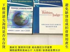 二手書博民逛書店Stephen罕見P. Robbins Timothy A.Judge MANAGEMENT INFORMATIO