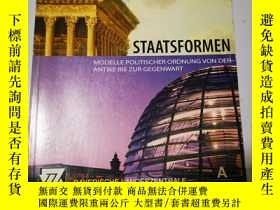 二手書博民逛書店Staatsformen罕見狀態 德文原版Y286382 Ale
