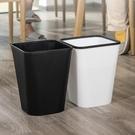 垃圾桶 北歐垃圾桶家用大號廚房分類廁所衛生間客廳臥室辦公室用簡約紙簍【凱斯盾】